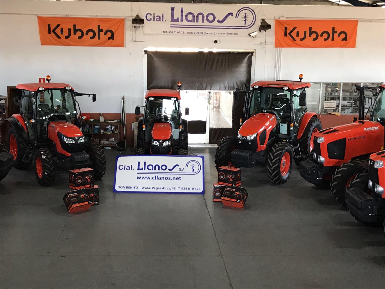 Maquinaría agrícola tractores