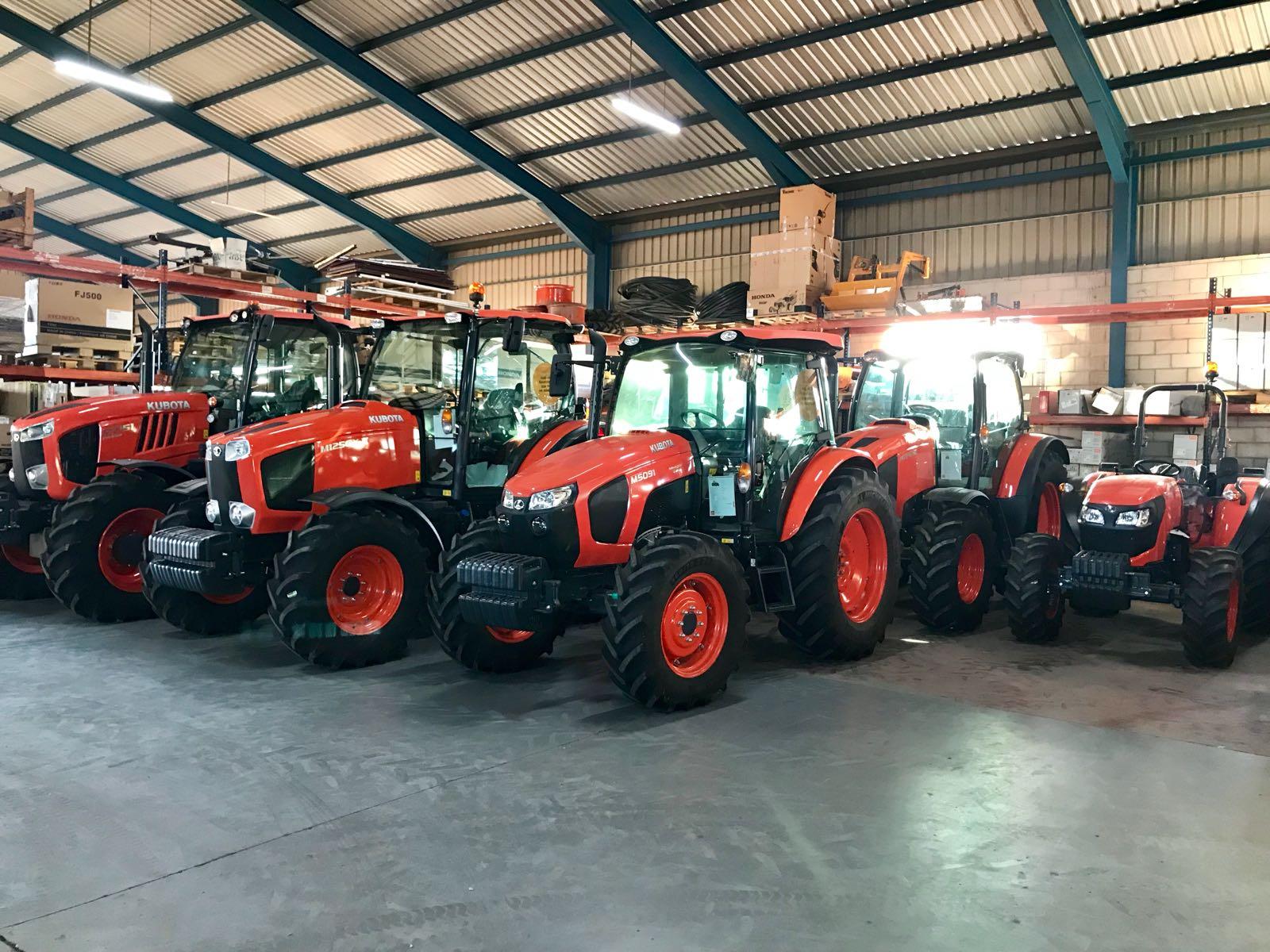 Maquinaría agrícola venta de aperos y tractores