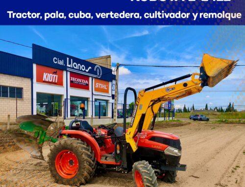 Tractor Kubota L-2421 con solo 70 horas