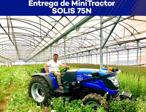 Entrega MiniTractor Solis 75N