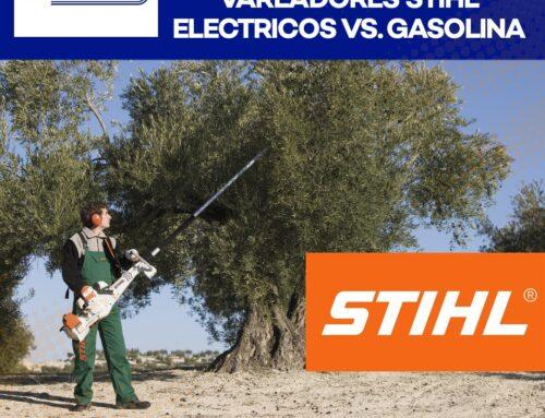 VENTAJAS Y DESVENTAJAS: VAREADORES STIHL ELECTRICOS O GASOLINA